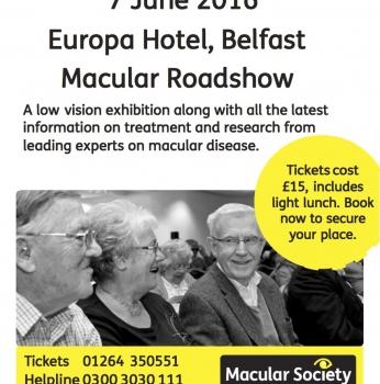 Macular Roadshow Comes to Belfast